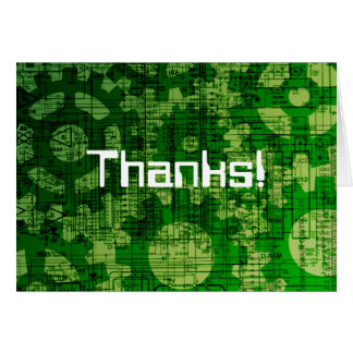 Tech support thanks! card