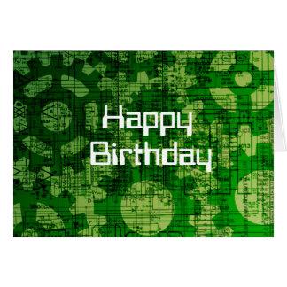 Tech Themed Birthday Card