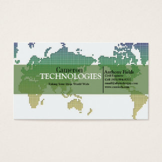 Tech World Business Card