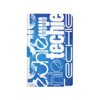 Techie; Royal Blue Stripes Journal