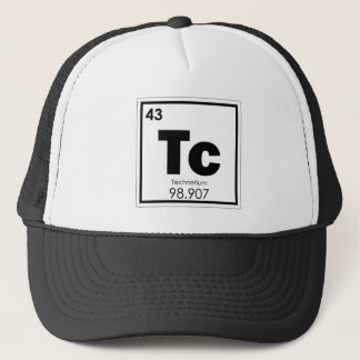 Technetium chemical element symbol chemistry formu trucker hat