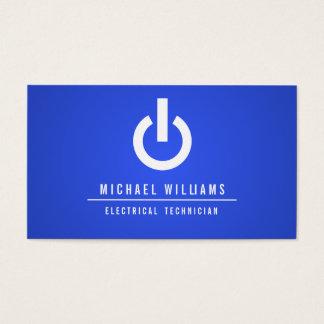 TECHNICAL CALLING CARD ELECTRICAL ELECTRICIAN