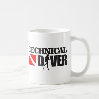 Technical Diver 2 Coffee Mug