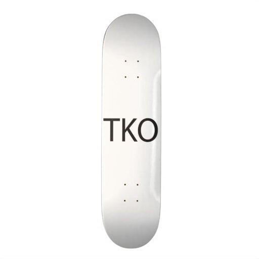 Technical Knock Out.ai Skate Board