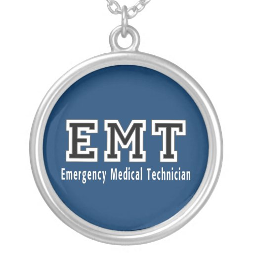 Technicien médical de secours colliers personnalisés