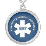 Technicien médical de secours collier personnalisé