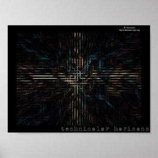 technicolor horizons poster