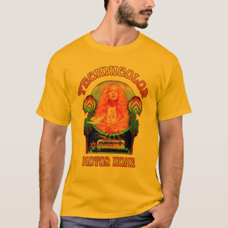 Technicolor Motor Home Band Mens Tee