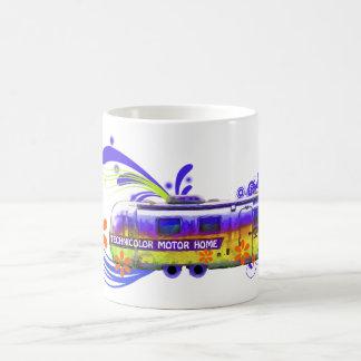 Technicolor Motor Home Magical Morphing Mug
