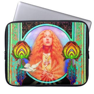 Technicolor Motor Home Peace Computer Sleeve