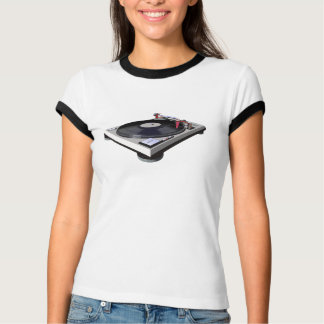 Technics 1200 Turntable record DJ 3D Tshirt