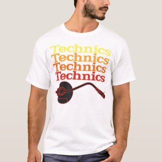 Technics Turntable T-Shirt