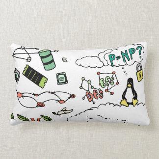 Technion Computer Science Lumbar Pillow