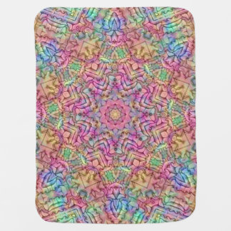 Techno Colors Kaleidoscope  Baby Blankets