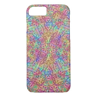 Techno Colors Kaleidoscope iPhone Cases