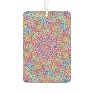 Techno Colors Pattern Air Fresheners, 4 styles Air Freshener