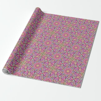 Techno Colors Pattern  Wrapping Paper 4 styles