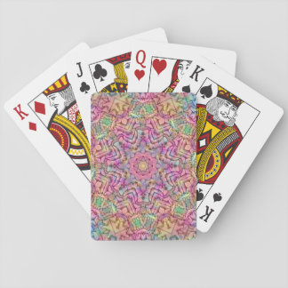 Techno Colors Playing Cards, Standard Index faces Playing Cards