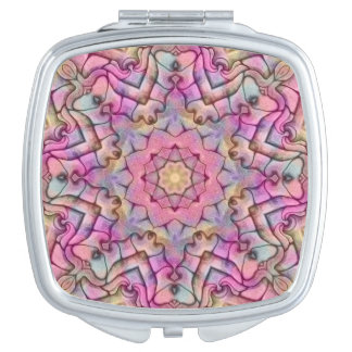 Techno Colors  Vintage  Compact Mirrors