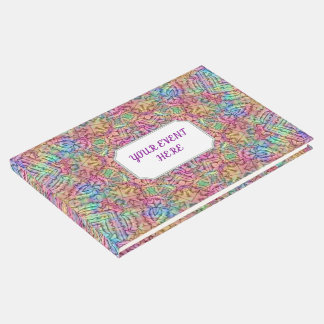 Techno Colours  Vintage Kaleidoscope  Guestbook