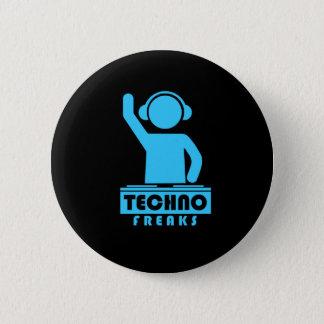 Techno Freaks 2 Inch Round Button