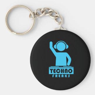 Techno Freaks Keychain
