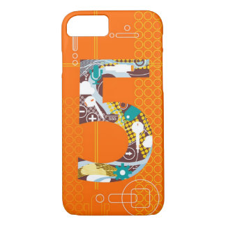 Techno Number 5 iPhone 7 case