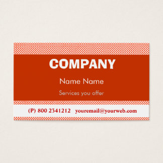 Techno Pop Retro Business Card