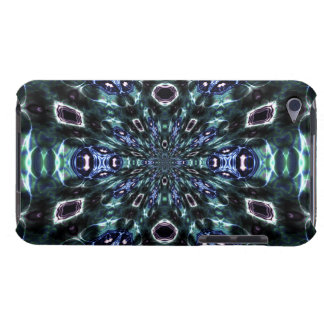 Techno Star Burst Fractal Abstract Energy Barely There iPod Covers