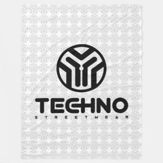 Techno Streetwear - Logo - Blanket