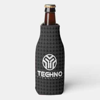 Techno Streetwear - Logo - Bottle Cooler