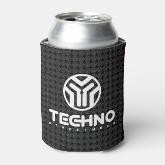 Techno Streetwear - Logo - Can Cooler