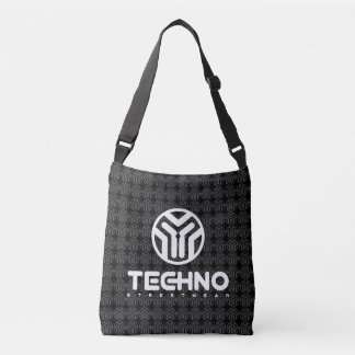 Techno Streetwear - Logo - Cross Body Bag
