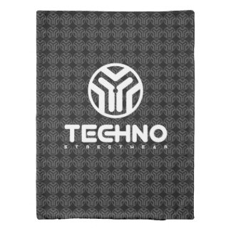 Techno Streetwear - Logo - Duvet Covers