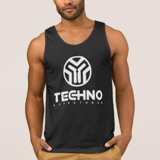 Techno Streetwear - Logo - Mens Tank Top