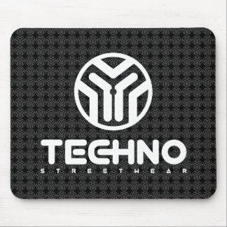 Techno Streetwear - Logo - Mouse Pad