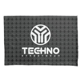 Techno Streetwear - Logo - Pillowcase