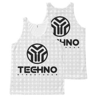 Techno Streetwear - Logo - Tank Top