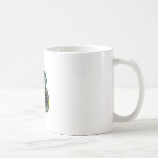 Techno Video Game Joystick Coffee Mug