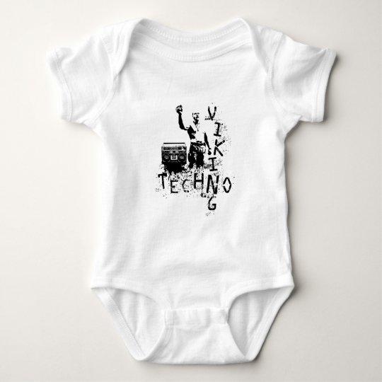 Techno Viking Baby Bodysuit