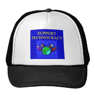 TECHNOCRACY TRUCKER HAT