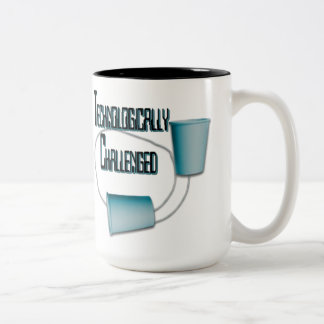 Technologically Challenged Humor Mug
