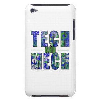 Technologie et Mech bleus Coque iPod Touch Case-Mate