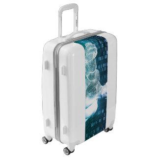 Technologie médicale avec l'ingénieur de valises
