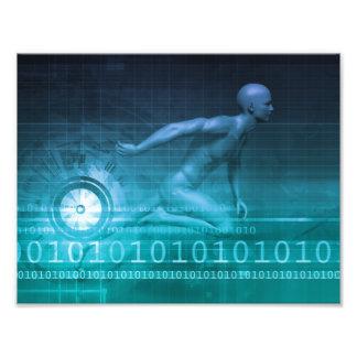 Technologies de vente de Digitals et rapidement Photographies D'art