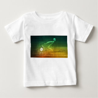 Technology Evolution with Man Evolving with System Baby T-Shirt
