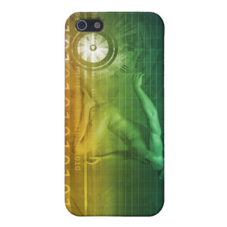 Technology Evolution with Man Evolving with System iPhone 5 Case