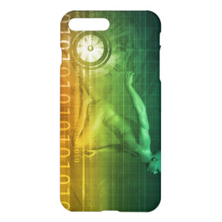 Technology Evolution with Man Evolving with System iPhone 7 Plus Case