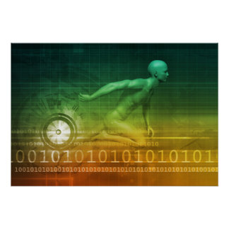 Technology Evolution with Man Evolving with System Poster