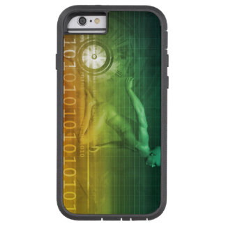 Technology Evolution with Man Evolving with System Tough Xtreme iPhone 6 Case